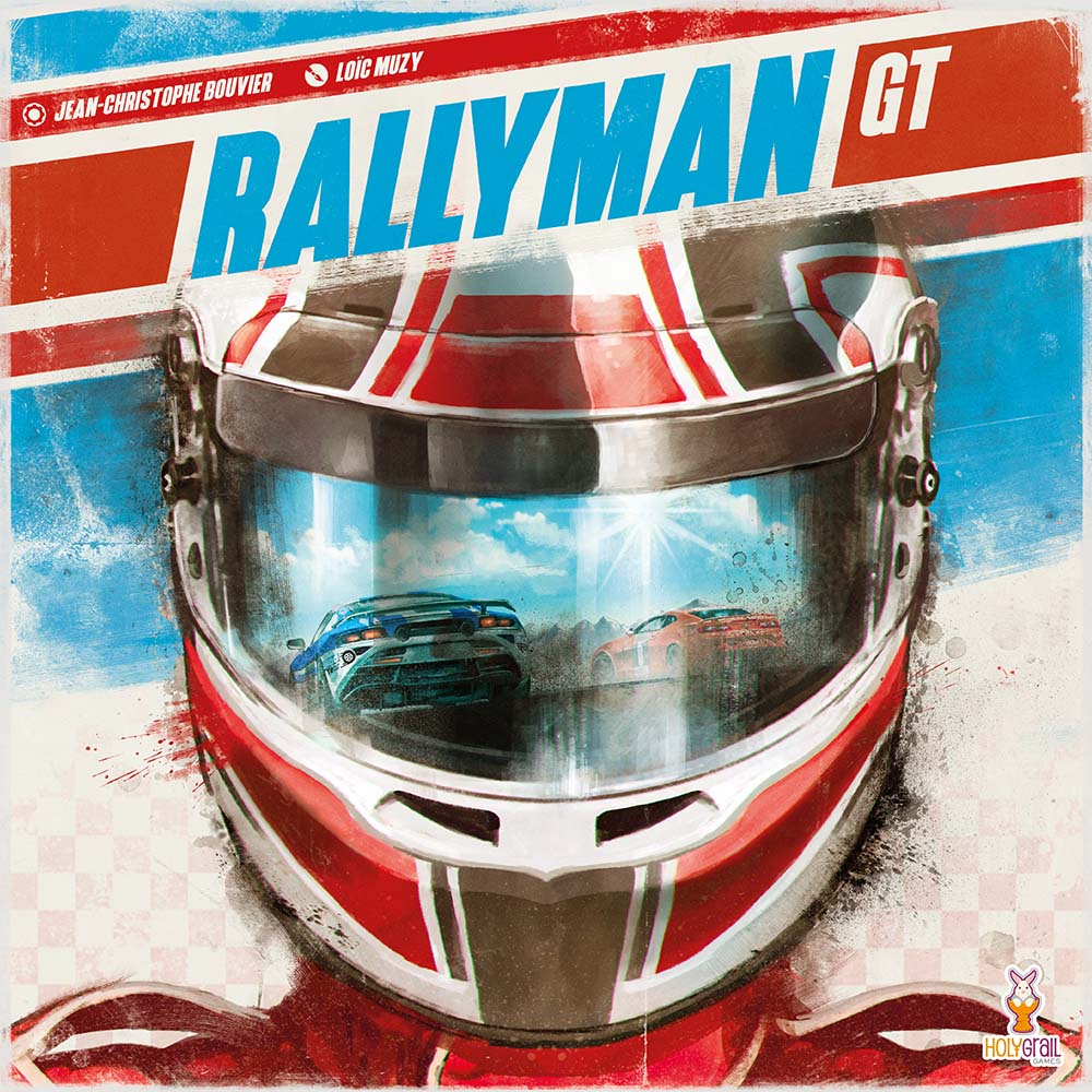 Holy grail games, rallyman GT game, rallyman GT board game, holy grail games board game, board game