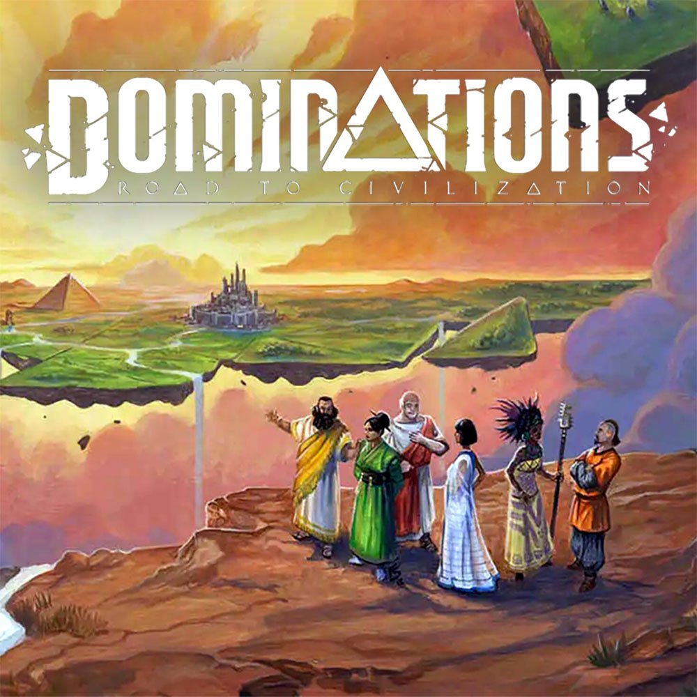 Holy grail games, Dominations game, Dominations board game, holy grail games board game, board game