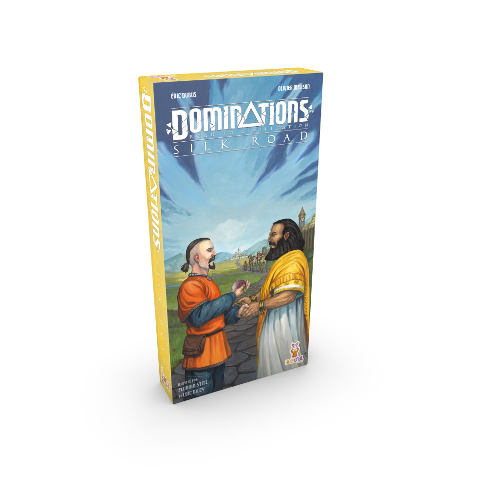 holy grail games dominations SILK-ROAD